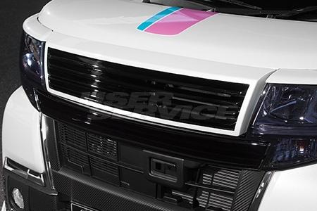 K-BREAK ケイブレイク タントカスタム LA600 後期 RS X トップエディションSA フロントグリル アスリートS ATHLETE+S