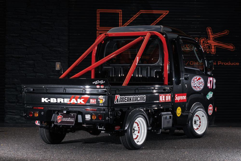 ハイゼットトラック ウイング K-BREAK Baby S500 リアウィング ケイブレイク Gang