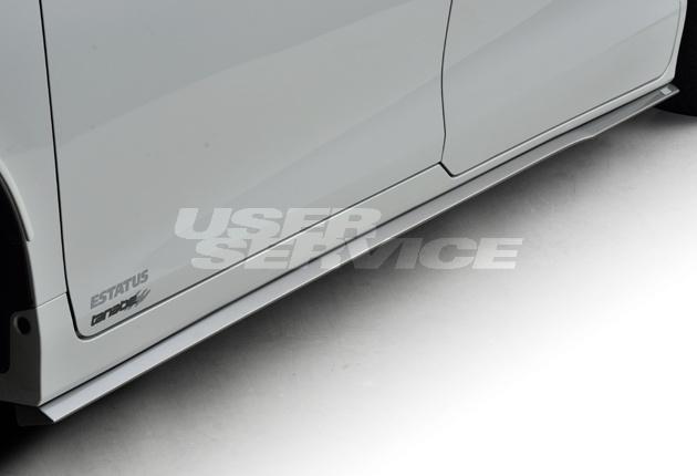 ジーコーポレーション ジーエスアイ ヴォクシー ZRR80/85・ZWR80 サイドステップ 未塗装 G-CORPORATION GS-i