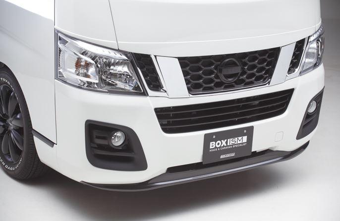 ボクシースタイル NV350キャラバン E26 1型 標準 ナロー フロントバンパーエクステ タイプ1 boxystyle