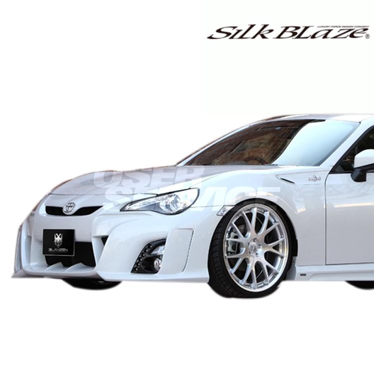 シルクブレイズ 86/ハチロク ZN6 フロントバンパー 塗装済 グレンツェン