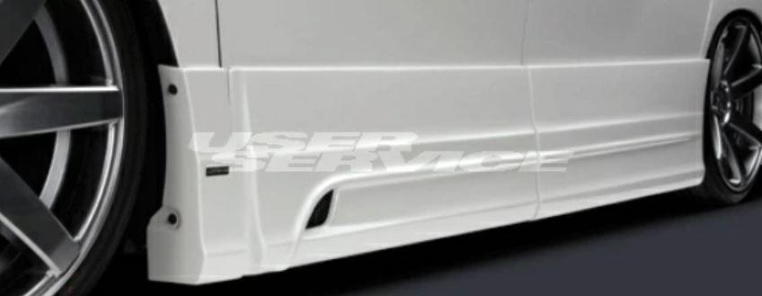 シルクブレイズ ヴェルファイア ANH[GGH]20/25W /ATH20W 後期 Z /ハイブリッド ZR サイドパネル 未塗装 純正交換タイプ グレンツェン