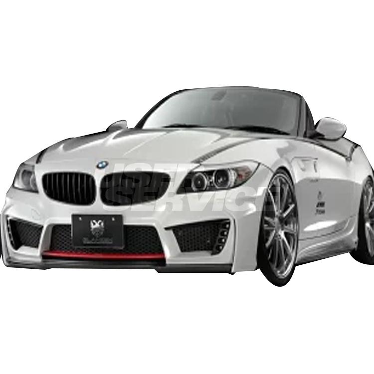 ウェットカーボン GL-Z4-FBC グレンツェン シルクブレイズ E89 BMW 個人宅発送追金有 フロントバンパー SilkBlaze GLANZEN 黒ゲル