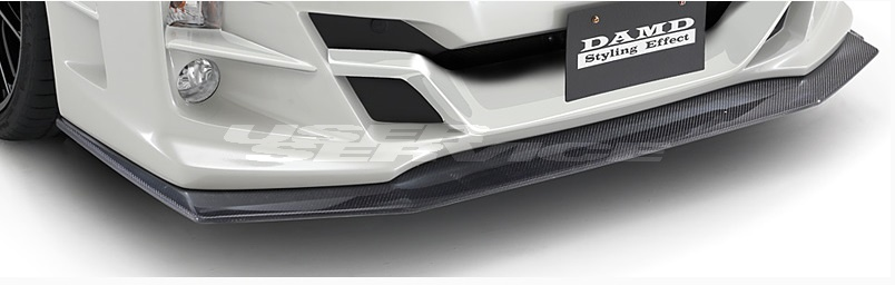 DAMD ダムド WRX S4 WRX STI VAG VAB 専用フロントアンダースポイラー FRP