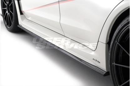 DAMD ダムド WRX S4 WRX STI VAG VAB サイドスカートエクステンション FRP