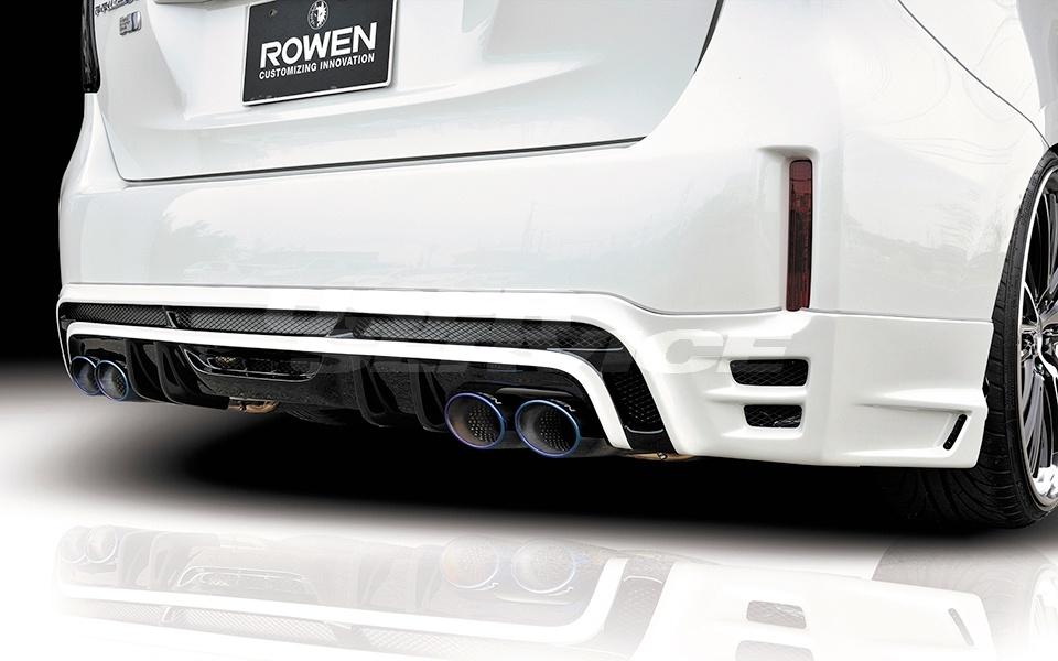 ROWEN ロウェン プリウスα ZVW40 ZVW41 後期 リアハーフスポイラー RR 未塗装 ECO-SPOエディション ECO-SPO edition トミーカイラ 1T005P00