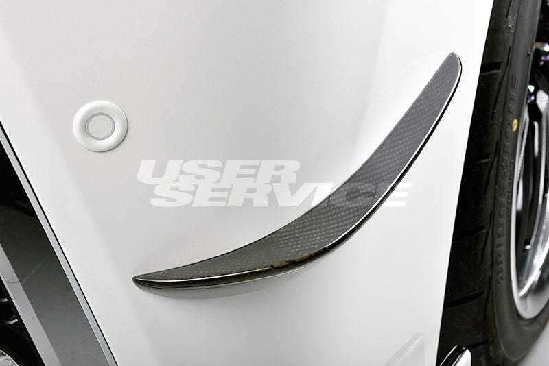 ROWEN ロウェン ヴェルファイア 30系 AGH3#W GGH3#W AYH30W 前期 Zグレード フロントカナード クリア塗装済 ジャパンプレミアム JAPAN PREMIUM トミーカイラ 1T018A21