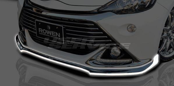ROWEN ロウェン アクア NHP10 G's RR フロントスポイラー 塗装済 エコスポエディション ECO-SPO Edition トミーカイラ 1T014A00#