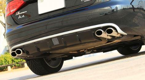 ROWEN ロウェン アウディ AUDI A4 AVANT アバント 8K リヤアンダーディフューザー 未塗装 プレミアムエディション PREMIUM Edtion トミーカイラ 1A001P20