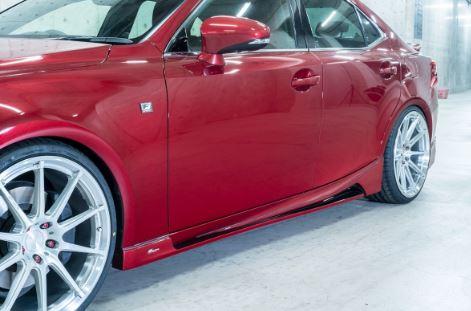 ROWEN ロウェン レクサス IS Fスポーツ 30系 GSE30 AVE30 ASE30 350 300h 200t サイドステップ 塗り分け塗装済 プレミアムエディション PREMIUM Edtion トミーカイラ 1L002J00##
