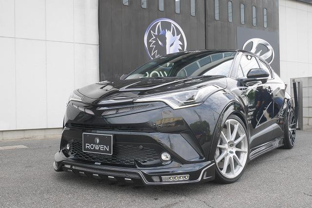 ロウェン SVプレミアムエディション C-HR ZYX10 NGX10 NGX50 マークレスグリル ABS 未塗装 1T026C00 ROWEN