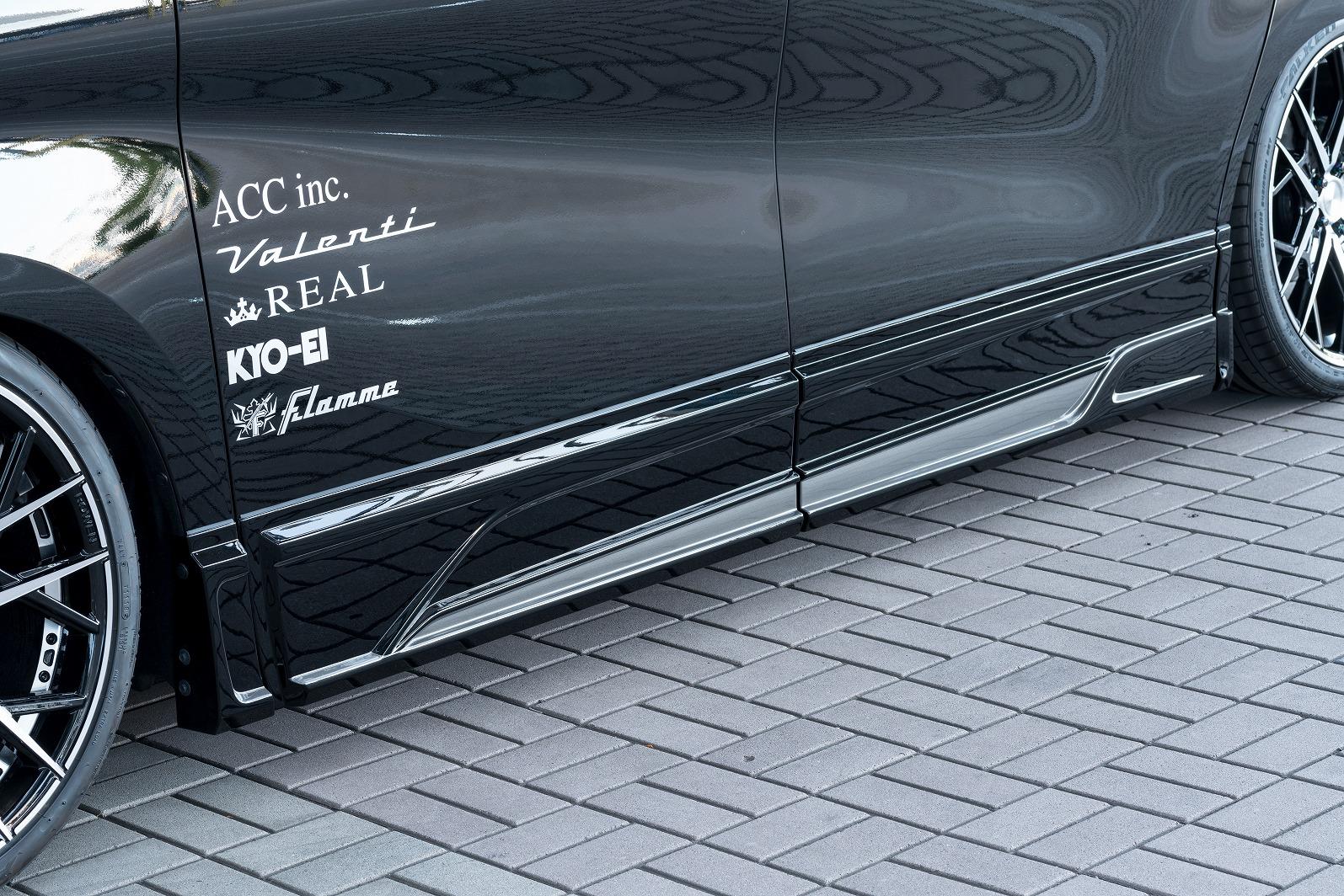 ロウェン アルモア アルファード 30系 AGH3#W GGH3#W AYH30W 後期 サイドパネル ABS 単色塗装 1T018J00# ROWEN
