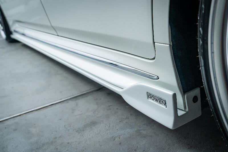 ロウェン ジャパン プレミアム クラウン RS 220系 AZSH20 ARS220 GWS224 サイドステップ ABS 未塗装 1T036J00 ROWEN