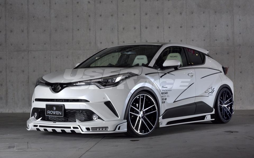 ROWEN ロウェン C-HR RR NGX50 ZYX10 STYLE KIT (3点キット) スタイルキット 塗り分け塗装済 SVプレミアムエディション SV PREMIUM Edition トミーカイラ 1T026X00##