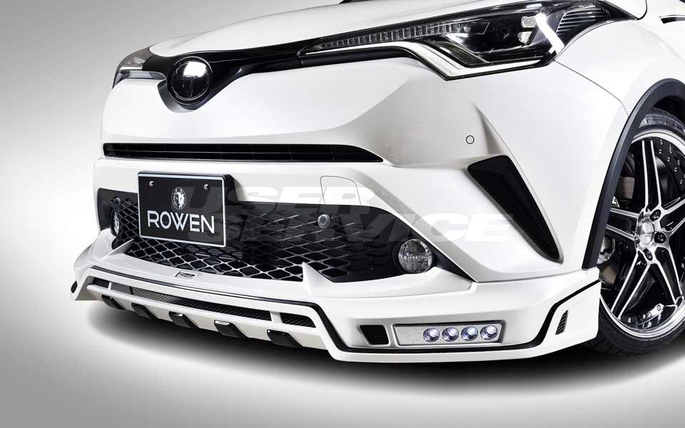ROWEN ロウェン C-HR RR NGX50 ZYX10 フロントスポイラー 単色塗装済 SVプレミアムエディション SV PREMIUM Edition トミーカイラ 1T026A00#