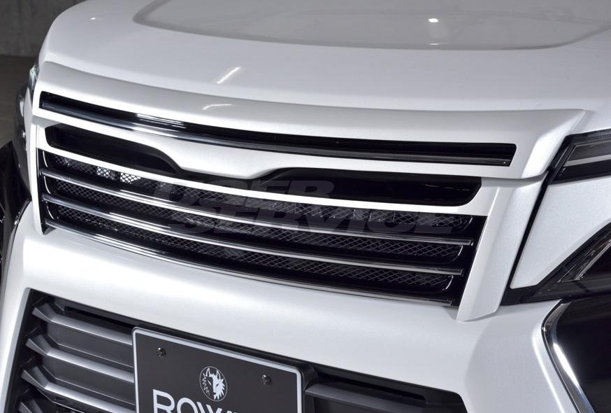 ROWEN ロウェン ヴォクシー ZRR80 後期 ZSグレード フロントグリル 塗り分け塗装済 プレミアムエディション PREMIUM Edtion トミーカイラ 1T028C00##