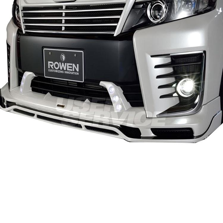 ROWEN ロウェン ヴォクシー ZRR80 ZRR85 前期 ZSグレード フロントスポイラー 塗り分け塗装済 プレミアムエディション PREMIUM Edtion トミーカイラ 1T013A00##