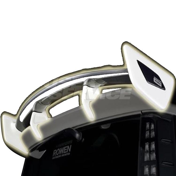 ROWEN ロウェン ヴォクシー ZRR80 ZRR85 前期 ZSグレード リヤウイング 未塗装 プレミアムエディション PREMIUM Edtion トミーカイラ 1T013W10