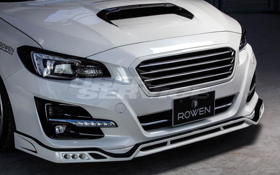 ロウェン プレミアムエディション レヴォーグ VM4 VMG フロントスポイラー 未塗装 1S009A00 ROWEN