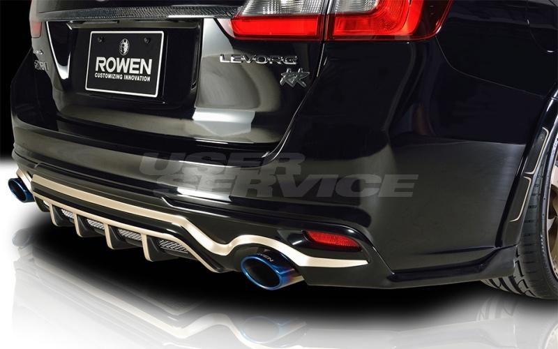ロウェン プレミアムエディション レヴォーグ VM4 VMG リヤアンダースポイラー 未塗装 1S005P00 ROWEN