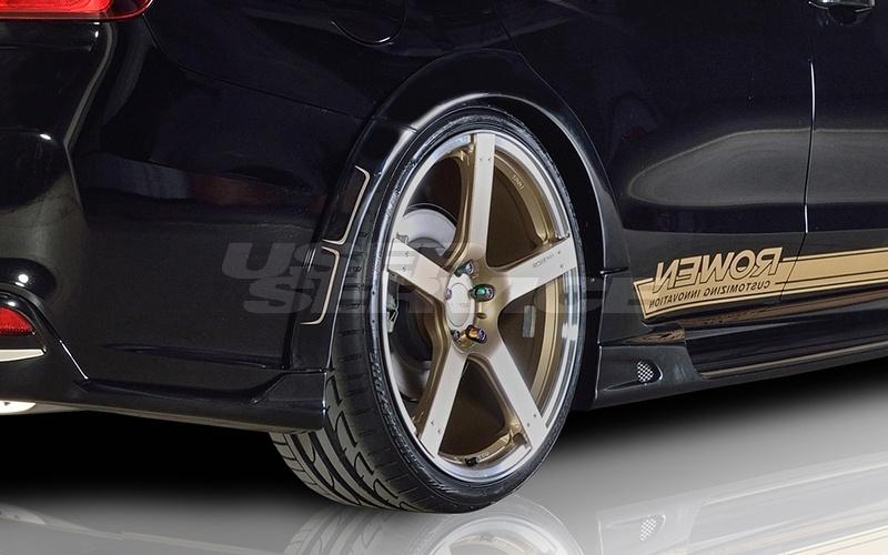 ロウェン プレミアムエディション レヴォーグ VM4 VMG リヤオーバーフェンダー 塗装済 1S005F00# ROWEN