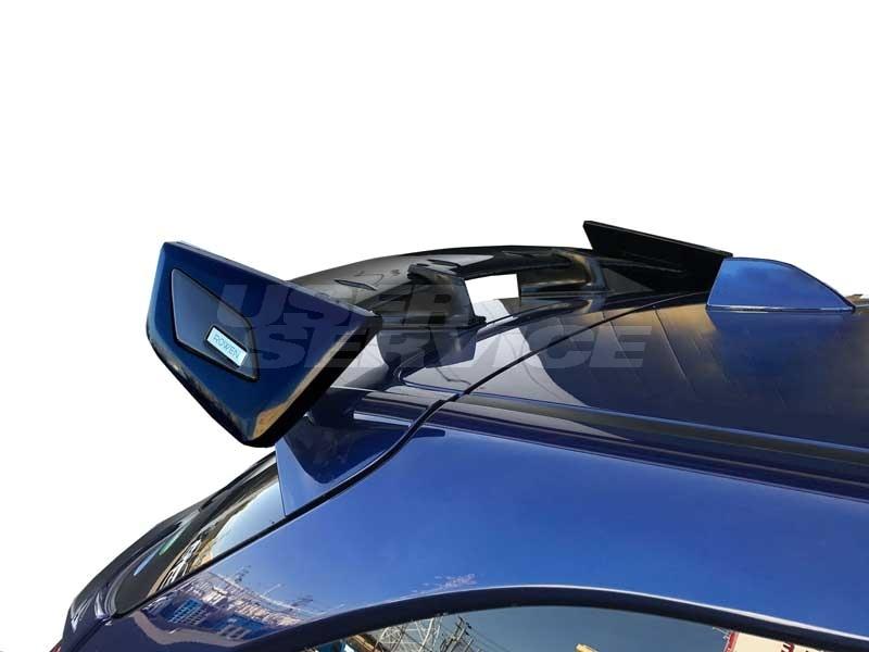 ロウェン プレミアムエディション レヴォーグ VM4 VMG リヤウイング ウィング Ver.2 FRP 塗装済 1S005R20# ROWEN