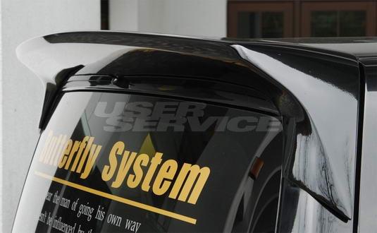 バタフライシステム eK スポーツ H82W リアウィング ウイング Butterfly System 黒死蝶