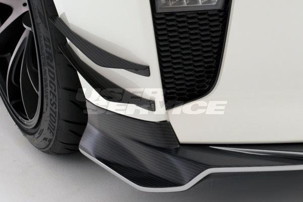 VARIS バリス GT-R R35 カナード ノーマルバンパー用 カーボン VANI-235