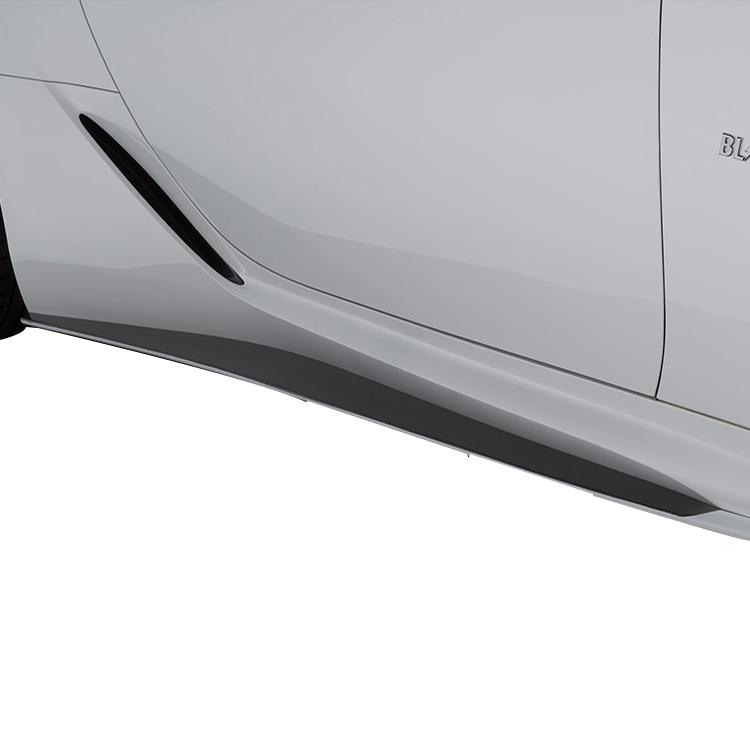 ブリッツ レクサス Z100系 LC500 LC500h サイドスカート 4X2アンバークリスタルシャイン 60296 BLITZ AERO SPEED エアロスピード Rコンセプト W