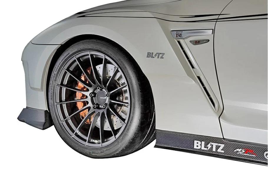ブリッツ GT-R R35 フロントフェンダー FRP製 60352 BLITZ AERO SPEED エアロスピード Rコンセプト W