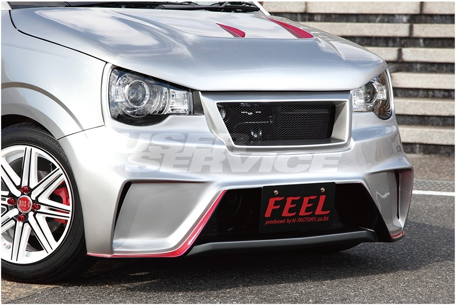 FEEL フィール アルト アルトワークス HA36 ターボRS 4点セット ストリートタイプR シリーズ
