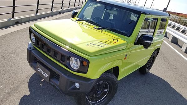 乱人 ジムニー ジムニーシエラ JB64W JB74W フロントグリル 未塗装 RANDO RANDO Style