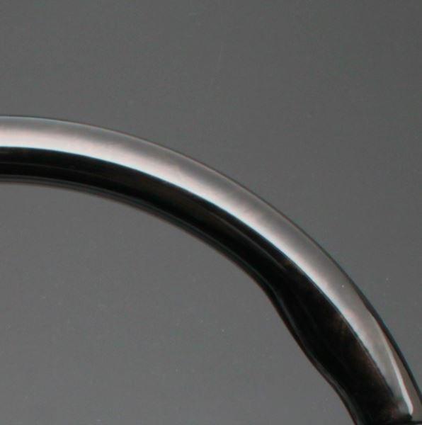 アクア NHP10系 FEGGARI フェガーリ ブラッキッシュブラウン×ブラックレザー トップグレード ウッド&レザー ステアリング ガングリップ LD301MH