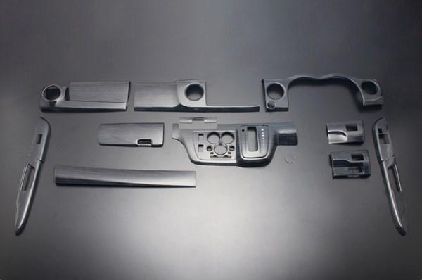 NV350 キャラバン E26 FEGGARI フェガーリ 黒木目 ハイグレード インテリアパネル 13ピース PLNV350WBW
