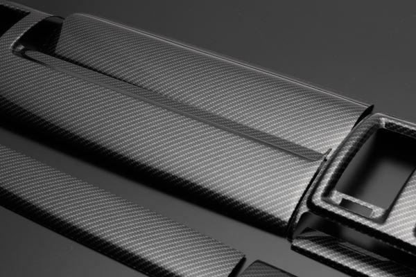 NV350 キャラバン E26 FEGGARI フェガーリ カーボンルック ハイグレード インテリアパネル 15ピース PLNV350CG