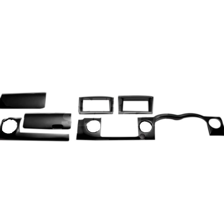 NV350 キャラバン E26 FEGGARI フェガーリ ピアノブラック ハイグレード インテリアパネル フロント上部のみの6ピース PLNV350PG6P
