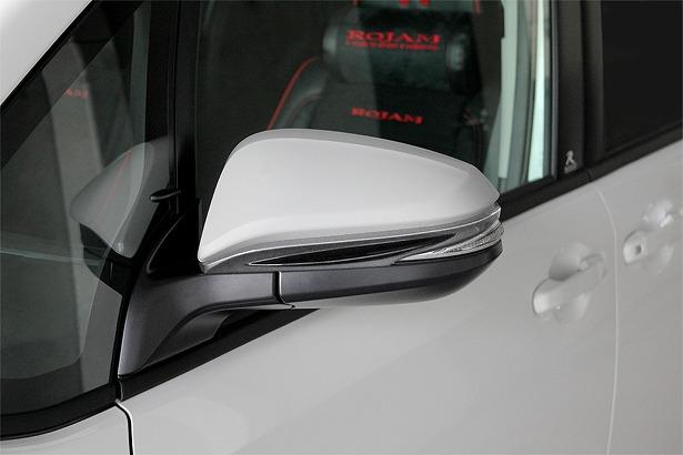 ROJAM ロジャム ヴォクシー 80系 ZRR8W 前期 エアロミラーエクステンション 塗装済み アイアールティー ジェニック IRT GENIK 20-eme-001
