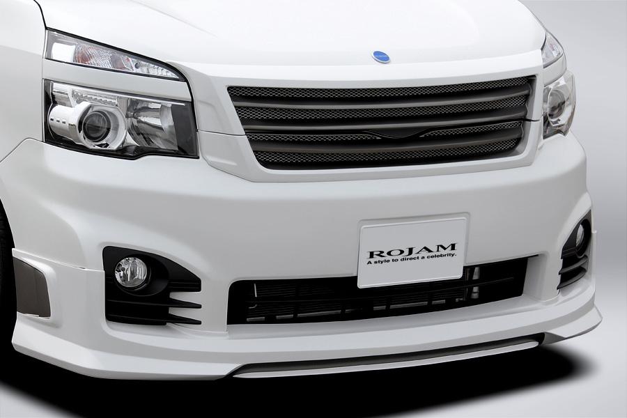 ROJAM ロジャム ヴォクシー 70系 ZRR70W 後期 Z/ZS/ZS煌(きらめき) 2WD フロントリップ・リアリップ(ver2)セット 未塗装 アイアールティー IRT