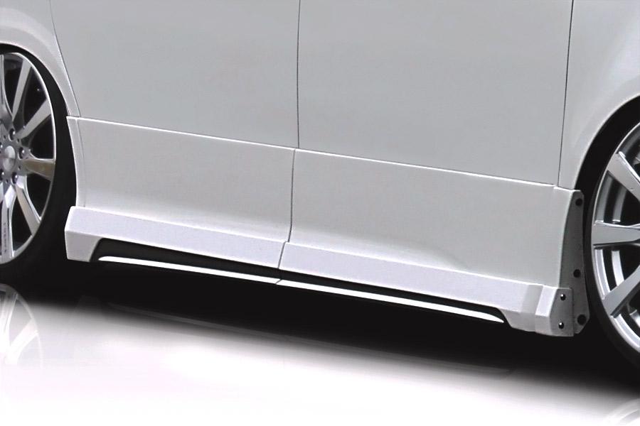 ROJAM ロジャム ヴォクシー 70系 ZRR70W 後期 Z/ZS/ZS煌(きらめき) サイドステップモール 未塗装 アイアールティー IRT 21-ss-vn70