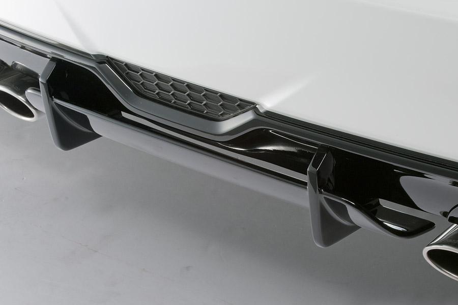 ROJAM ロジャム プリウス 30系 ZVW30 G's ダブルディフューザー 未塗装 ヴェルデ VERDE 23-wdf-pr30g