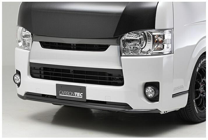 ボクシースタイル ハイエース 200系 4型 標準(ナロー) フロントバンパーエクステ boxystyle