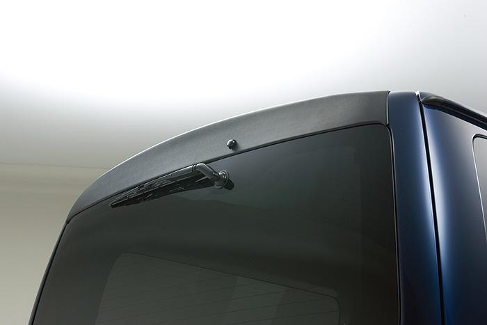 boxystyle ボクシースタイル リアゲートガーニッシュ 未塗装 ハイエース 200系 4型 標準 ナロー