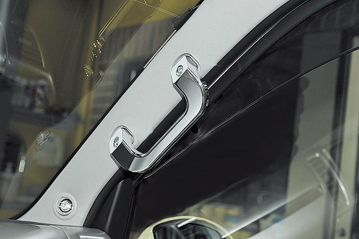 高価値セリー boxystyle ボクシースタイル Aピラーアシストグリップ ハイエース 200系 4型 標準 ワイド, イワツキシ c74a2b1a