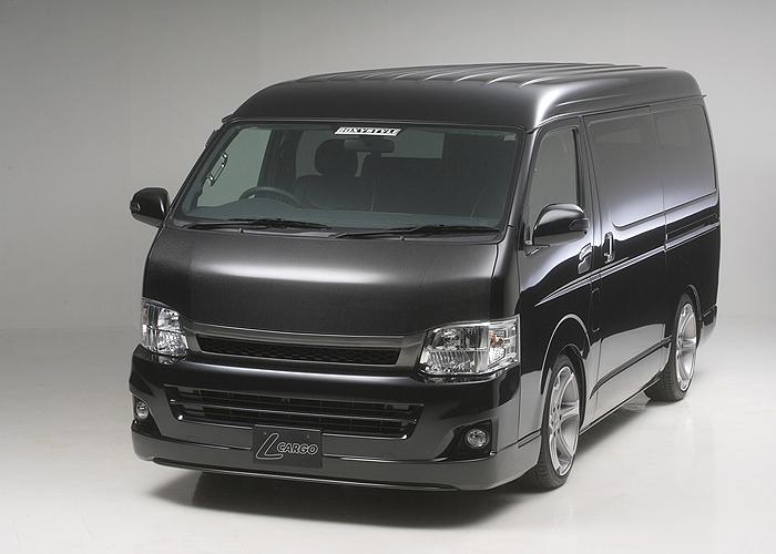 boxystyle ボクシースタイル ユーロカーボンボンネット ハイエース 200系 1型 2型 3型 4型 ワイド