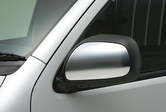 boxystyle ボクシースタイル ドアミラーガーニッシュ 未塗装 ハイエース 200系 標準 ワイド