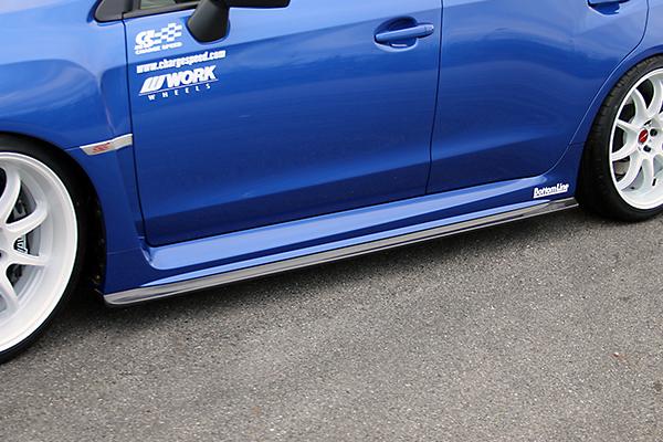 チャージスピード WRX STI VAB サイドボトムライン タイプ1 FRP CHERGESPEED BottomLine ボトムライン