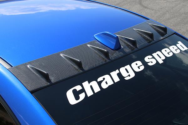 チャージスピード WRX STI VAB WRX S4 VAG A/B/C/D/E ルーフフィン FRP 未塗装 CHARGE SPEED 撃速チャージスピード