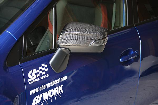 チャージスピード WRX STI WRX S4 VAB VAG ドアミラーカウル カーボン CHARGE SPEED 撃速チャージスピード