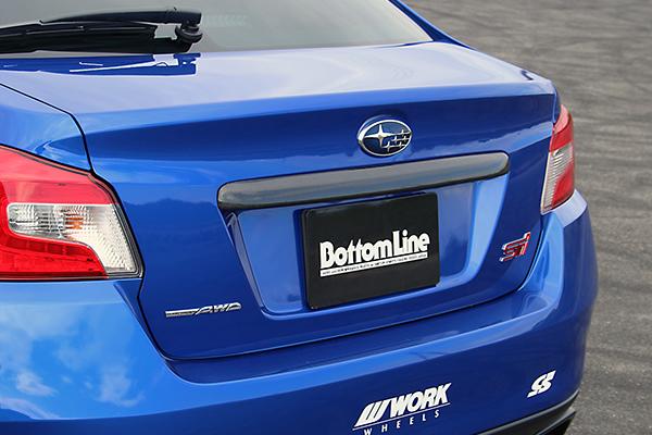 チャージスピード WRX STI WRX S4 VAB VAG リアフィニッシャー カーボン CHARGE SPEED 撃速チャージスピード