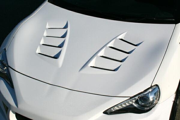 チャージスピード BRZ ZC6 E型 F型 ボンネット ダクト付 FRP CHARGE SPEED ボトムライン BottomLine